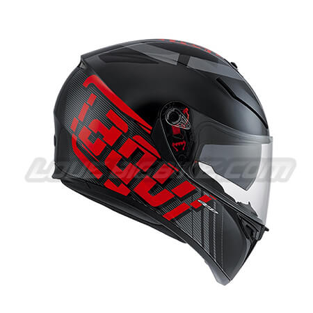 AGV K3-SV – MYTH BLACK-GREY-RED – 02