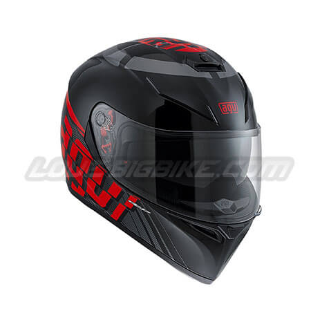 AGV K3-SV – MYTH BLACK-GREY-RED – 01