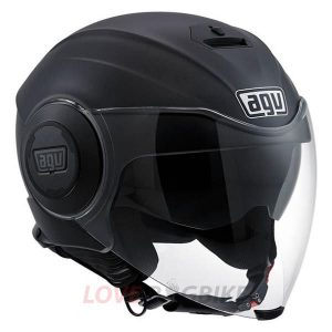 2_AGV FLUID MATT BLACK