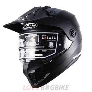 HJC DS-X1 Semi Flat Black_11