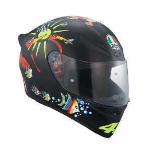 AGV_ Helmet _K1 _White_ Zoo_Matt_ Black_1